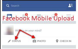 Facebook Mobile Upload