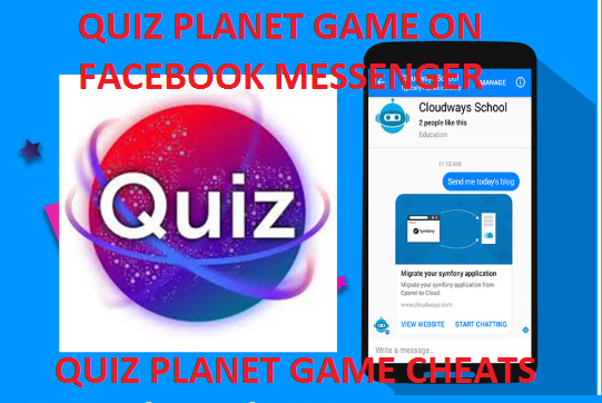 QUIZ PLANET GAME ON FACEBOOK MESSENGER-CHEATS FOR MESSENGER