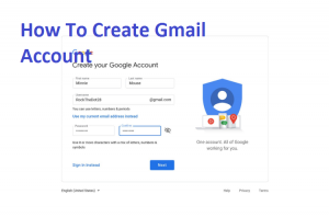 Sign-Up-Google-Account