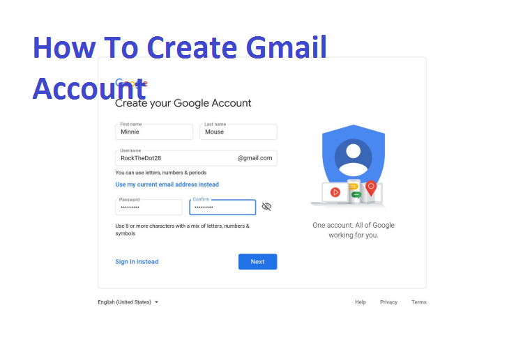 Sign Up Google Account - Google Account Sign In|How To Create Gmail Account  - TechGrench