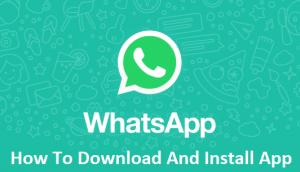 WhatsApp-App-Free-Download