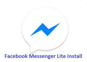 Facebook-Messenger-Lite-Install