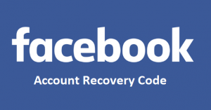 Facebook-Account-Recovery-Code