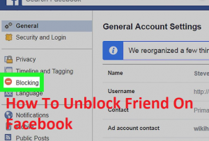 How-To-Unblock-Friend-On-Facebook