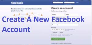 Create-A-New-Facebook-Account