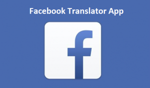 Facebook-Translator-App