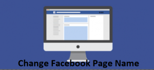 Change-Facebook-Page-Name