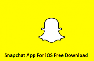 Snapchat-App-For-iOS-Free-Download