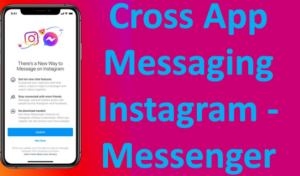 Cross-App messaging on Facebook
