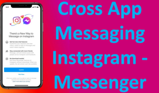 Cross-App messaging on Facebook