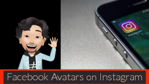 Facebook avatar on Instagram