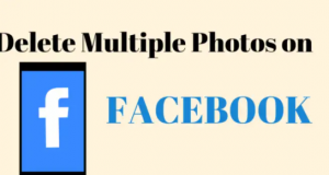 How to Delete Multiple Photos On Facebook App