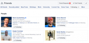 How to See Who I am Following on Facebook on Android