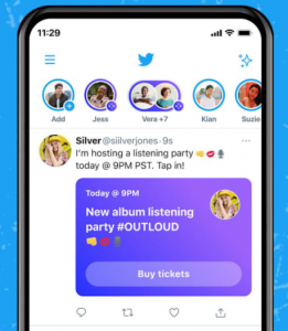 Twitter is finally rolling out Ticketed Spaces