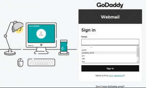 GoDaddy Webmail Login
