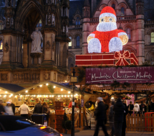 Manchester Christmas market 2021