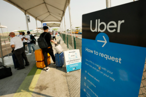 Uber can track flights and adjust reservations when you're arriving late